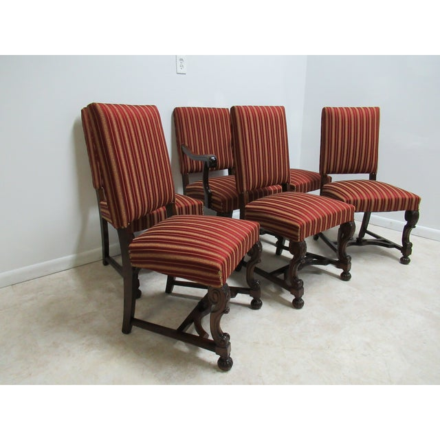 In Great Shape Tight And Sturdy Super Quality Looks Feels Like Berkey Empire Antique Gay French Walnut Dining Room Arm Chairs