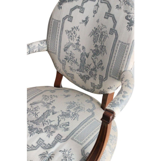 Hickory Furniture Chinoiserie Armchairs - A Pair - Image 3 of 4