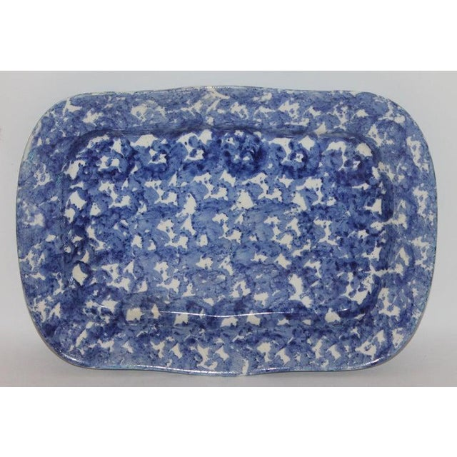 19th Century Sponge Ware Platters - Collection of 4 For Sale In Los Angeles - Image 6 of 9