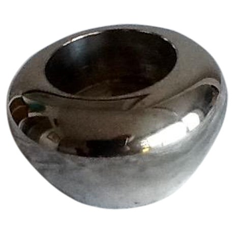 Vintage Silver Plate Tealight Candle Holder - Image 1 of 5