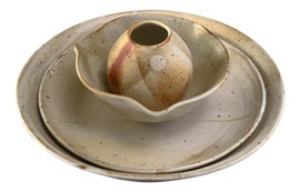 Image of Beige Decorative Bowls
