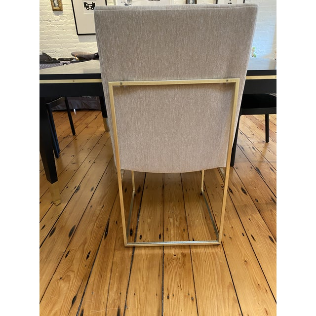 2010s Lawson-Fenning Thin Frame Dining Chairs - Set of 8 For Sale - Image 5 of 10