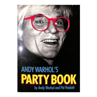 Andy Warhol's Party Book For Sale