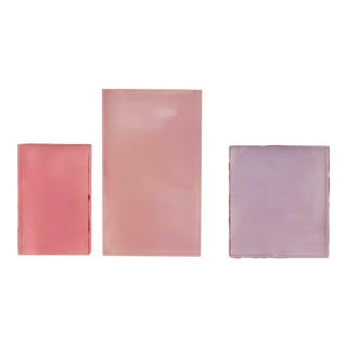 "Debra Ramsay ""Vapors, Relationships"" Paintings - Set of 3 For Sale"