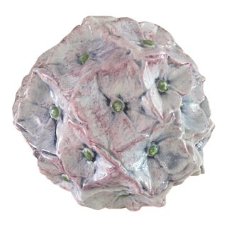 Baby Pink Hydrangea Trinket Box For Sale