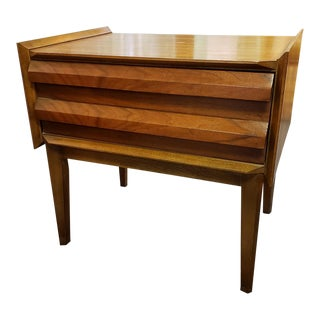 """Lane """"First Edition"""" Mid-Century Nightstand For Sale"""