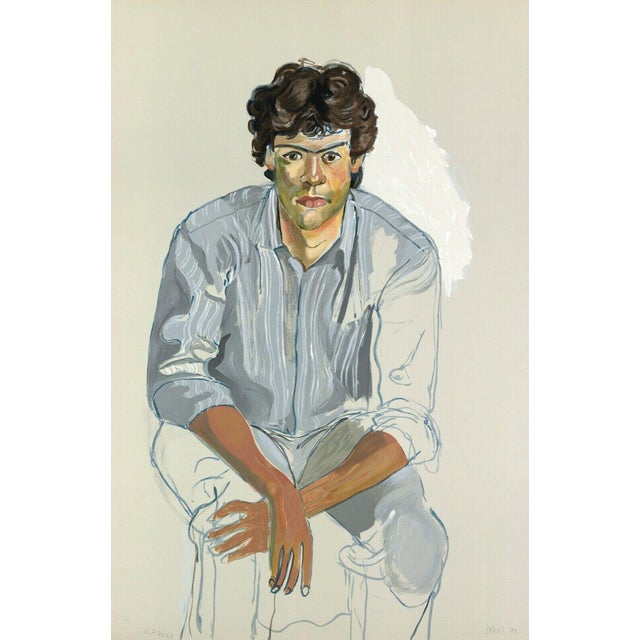 Alice Neel The Youth (John Cheim) 1982 For Sale