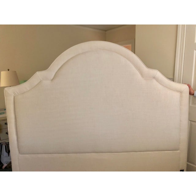 Restoration Hardware Jameson King Headboard - Image 2 of 4