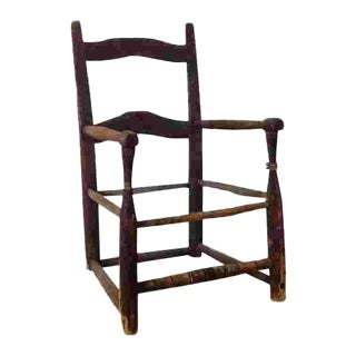18th Century American Child's Chair For Sale