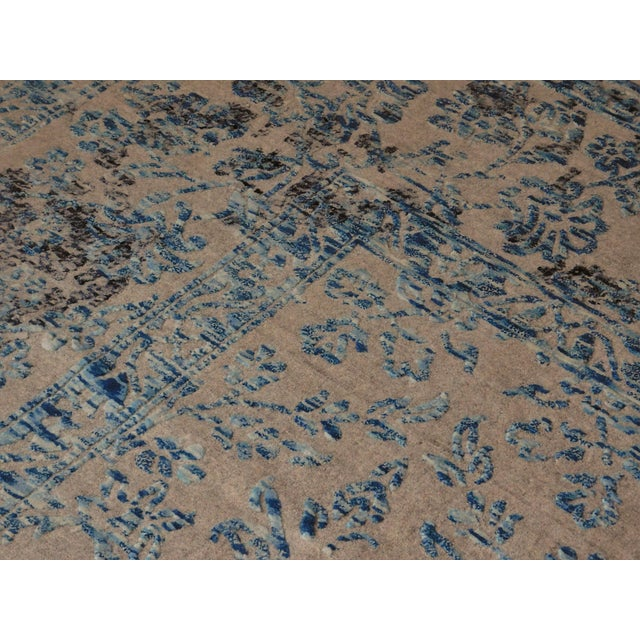 Hand Knotted Indian Rug - 8′ × 10′ - Image 9 of 11