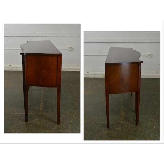 *STORE ITEM #: 18463-fwmr B. Altman & Co. New York Vintage Mahogany Federal Style Sideboard AGE / ORIGIN: Approx. 70...