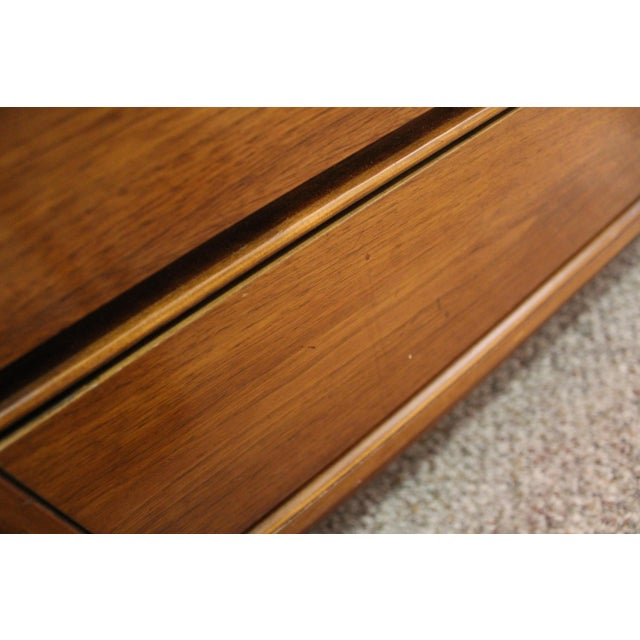 Mid-Century Danish Modern Walnut Credenza For Sale - Image 9 of 11