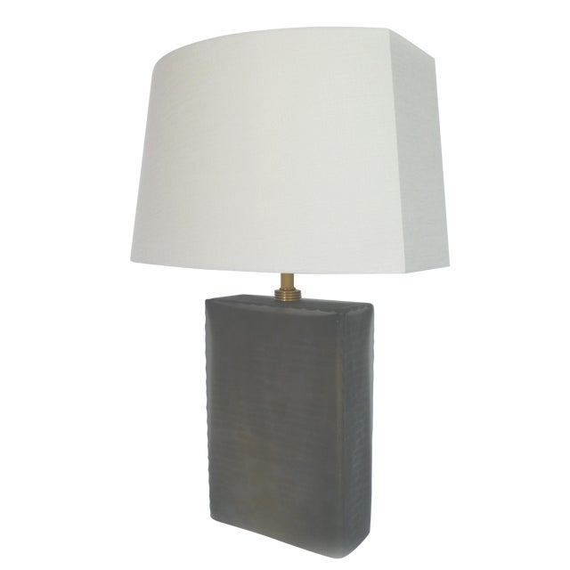 Donghia Frosted Glass Table Lamp - Image 1 of 6