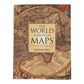 """2003 """"The World Through Maps/History of Cartography"""" First Edition Art Book For Sale"""