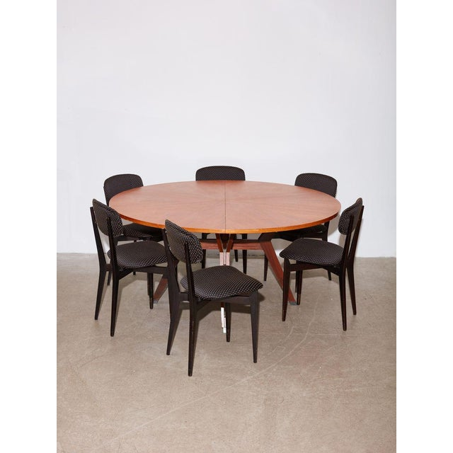 Gray Vintage 1960s Ico Parisi Dining Table and Chairs Set For Sale - Image 8 of 8