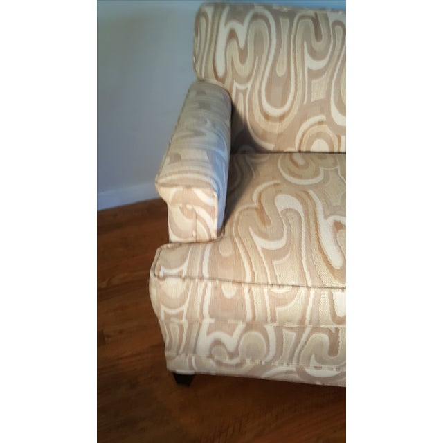 1940s Maison Jansen-Style Neutral Sofa For Sale - Image 7 of 7