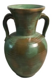 Image of Army Green Vases