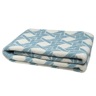 Eco Cane Pond & Milk Throw