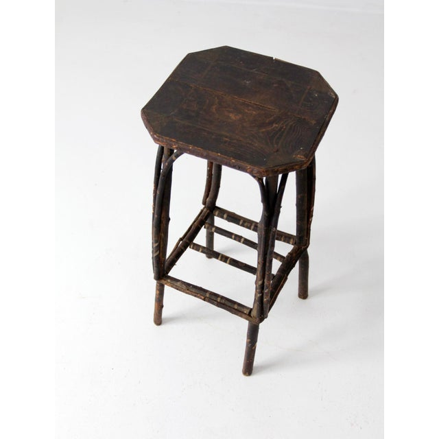 Antique Adirondack Twig Table For Sale - Image 9 of 11