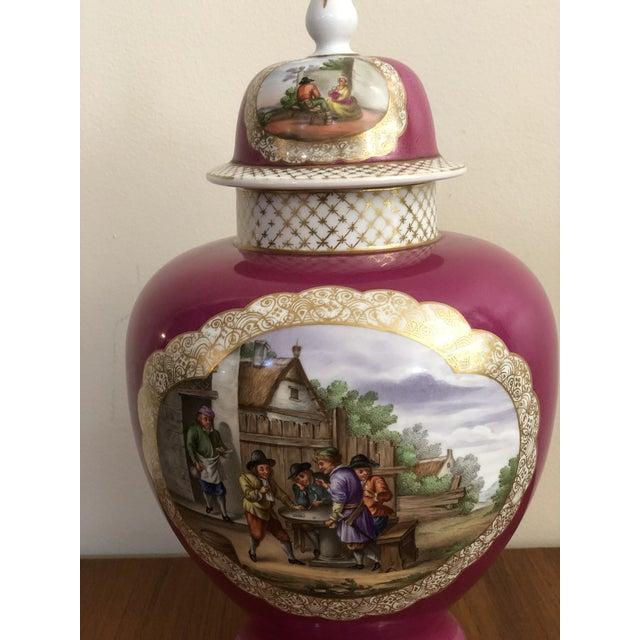 """Antique """"Ar"""" Augustus Rex Meissen Hand Painted Porcelain ..."""