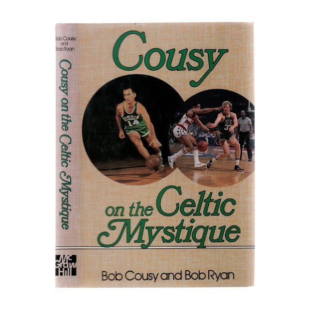 """1988 """"Signed Edition, Cousy on the Celtic Mystique"""" Collectible Book For Sale"""