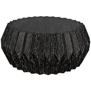 Tamela Coffee Table, Cinder Black For Sale
