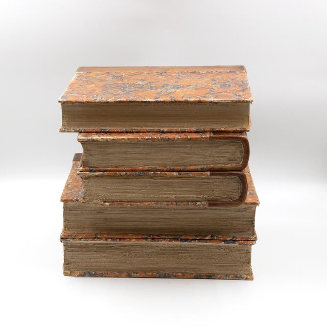 Wood Late Victorian Book Stack Concealed Wine Cooler, English Circa 1880 For Sale - Image 7 of 9