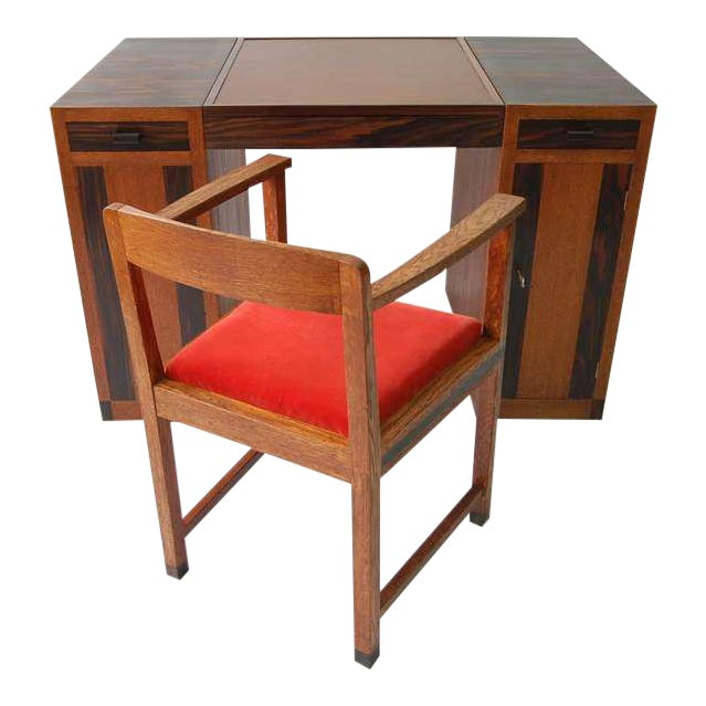 Game Table or Desk Attributed to Francis Jourdain For Sale