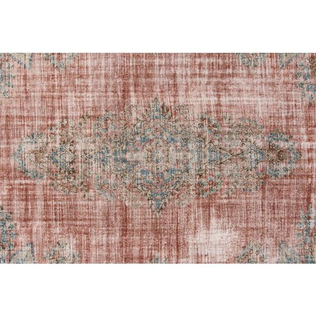 "Apadana-Antique Persian Distressed Rug, 9'5"" X 13'0"" For Sale - Image 4 of 9"