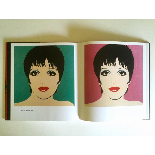 """"""" Andy Warhol Portraits """" Rare 1st Edtn Vintage 1993 Iconic Collector's Volume Hardcover Book For Sale - Image 10 of 13"""
