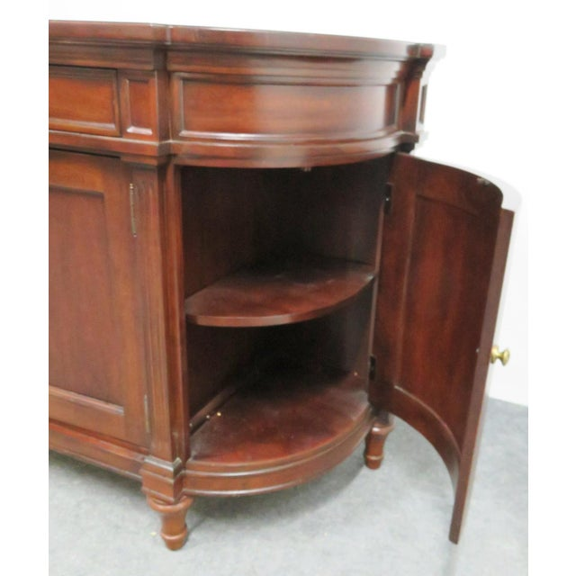 Late 20th Century Regency Style Bernhardt Cherry Sideboard For Sale - Image 5 of 9