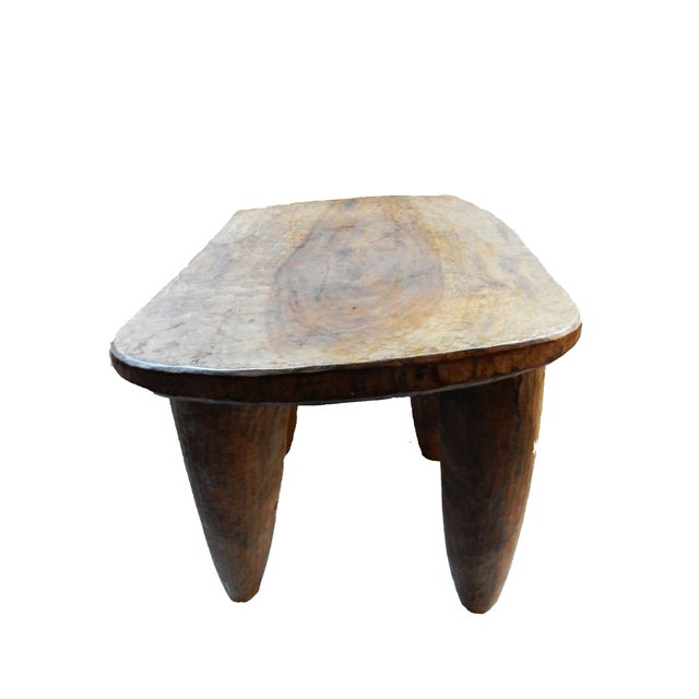 African Senufo Wood Stool - Image 4 of 6