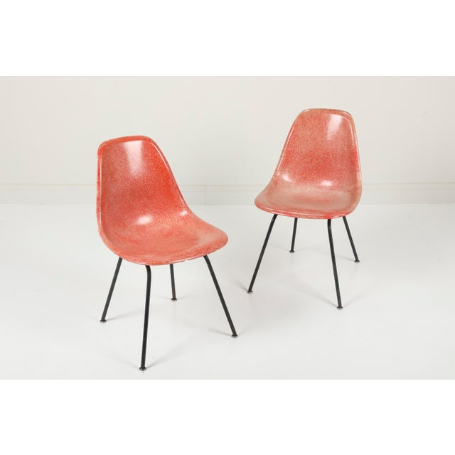"Charles & Ray Eames | Herman Miller USA, 1950 Fiberglass, Steel 32"" tall x 18.5"" wide x 22"" deep (seat height: 17"") Early..."