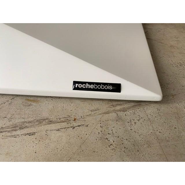 "Postmodern Postmodern Roche Bobois ""Furtif"" Writing Desk For Sale - Image 3 of 11"