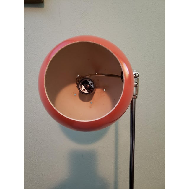 Contemporary 1960s Vintage Mid Century Eyeball Table Lamp For Sale - Image 3 of 5