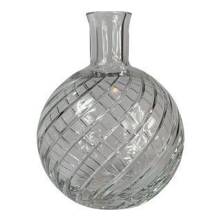 Baccarat Cut Crystal Decanter For Sale