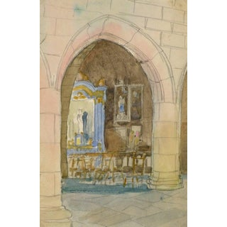 Church Architecture Painting For Sale