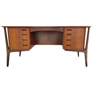 Exceptional Danish Modern Rosewood Desk by Svend Madsen
