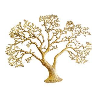 Vintage 1970's-80's Bijan Brass Tree For Sale