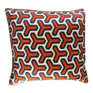 Jonathan Adler Modern Throw Pillow For Sale