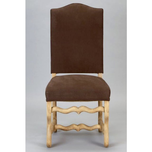 French Os Du Mouton Dining Chairs - Set of 6 - Image 5 of 8