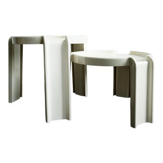 1970s Giotto Stoppino for Kartell Nesting Tables - Set of 2 For Sale