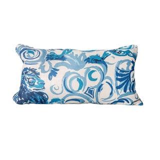 Lionheart Linen Pillow - 12 X 22 For Sale