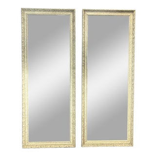 Late 20th Century Victorian Style Mirror Doors - a Pair For Sale