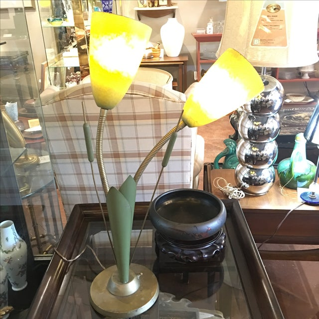 Vintage Cat O'Nine Tails Table Lamp - Image 2 of 6
