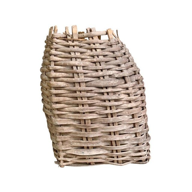 Late 19th Century Large 19th Century American Nut Basket For Sale - Image 5 of 11