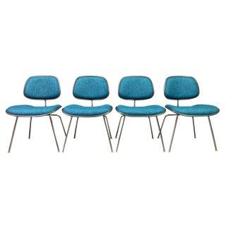 Vintage Mid Century Modern Herman Miller Ec 127 Eames Chairs- Set of 4 For Sale