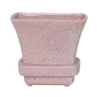 Pink Splatter Mid-Century McCoy Vase