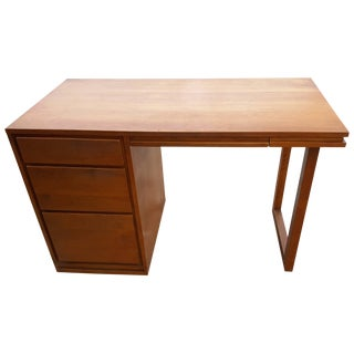 Russel Wright by Conant Ball Mid-Century Modern Birch Desk For Sale