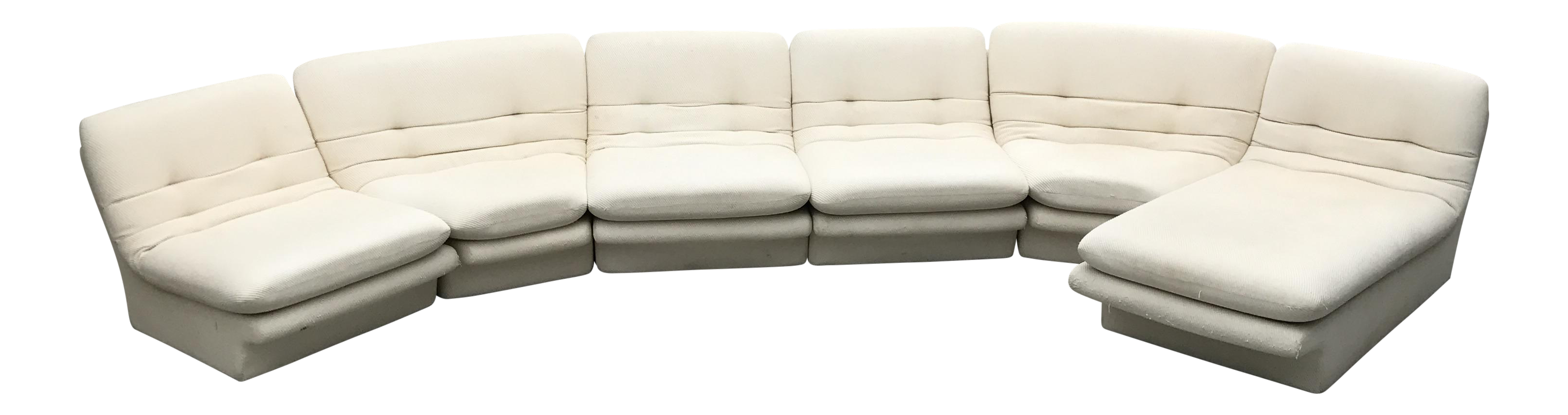 1970s Vintage Vladimir Kagan Sectional Sofa